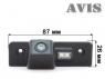 Камера заднего вида Avis для Skoda Octavia II 2004-...г.в.
