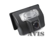 Камера заднего вида Avis для Nissan Tiida (седан)