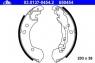 Тормозные колодки задние для Nissan Micra K12, K13 (2002-...)