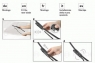 Щетки стеклоочистителя (дворники) (600/400мм) для Citroen C-Elysee 2012-...г.в.