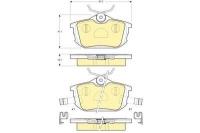 Тормозные колодки задние для Volvo S40 I 1995-2003 г.в.