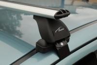 Багажник Lux для Nissan Tiida хэтчбек (с аэродинамическими дугами)