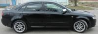 Дефлекторы окон (ветровики) для Audi A4 II\III, кузов 8Е,B6\B7 седан (2000-2008 г.в.)