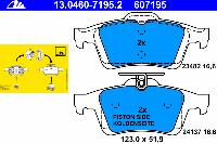 Тормозные колодки задние для Mazda 5 (CR) (2005-2010 г.в.)