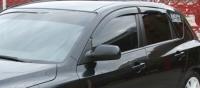 Дефлекторы окон (ветровики) для Mazda 3 (2003-2008 г.в.) хэтчбек