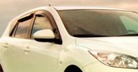 Дефлекторы окон (ветровики) для Mazda 3 (2009-... г.в.) хэтчбек