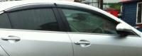 Дефлекторы окон (ветровики) для Mazda 6 (2007-... г.в.) седан