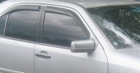 Дефлекторы окон (ветровики) для Mercedes-Benz C Class (1993-2000 г.в.) седан
