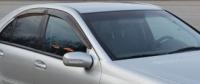 Дефлекторы окон (ветровики) для Mercedes-Benz C Class (2000-2007 г.в.) седан