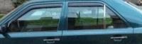 Дефлекторы окон (ветровики) для Mercedes-Benz E Class (1984-1995 г.в.) седан