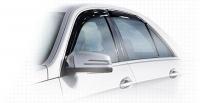 Дефлекторы окон (ветровики) для Mercedes-Benz E Class (2009-... г.в.) седан