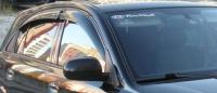 Дефлекторы окон (ветровики) для KIA Rio II (2005-2009 г.в.) хэтчбек