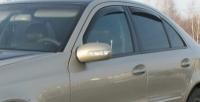 Дефлекторы окон (ветровики) для Mercedes-Benz E Class (2002-2009 г.в.) седан