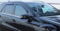 Дефлекторы окон (ветровики) для Mercedes-Benz M Class (2005-2011 г.в.)