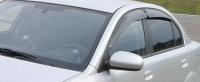 Дефлекторы окон (ветровики) для KIA Rio II (2009-2011 г.в.) седан