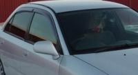 Дефлекторы окон (ветровики) для Mitsubishi Carisma (1995-2004 г.в.)