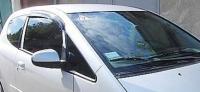 Дефлекторы окон (ветровики) для Mitsubishi Colt (2003-... г.в.) 3 дверный