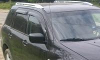 Дефлекторы окон (ветровики) для Mitsubishi Outlander I (2003-2007 г.в.)