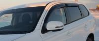 Дефлекторы окон (ветровики) для Mitsubishi Outlander III (2012-... г.в.)