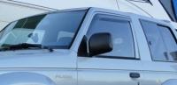 Дефлекторы окон (ветровики) для Mitsubishi Pajero II (1991-1998 г.в.) 3 дверный