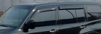 Дефлекторы окон (ветровики) для Mitsubishi Pajero III и IV (1999-... г.в.) 5 дверный