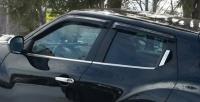 Дефлекторы окон (ветровики) для Nissan Juke (2010-... г.в.)