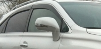Дефлекторы окон (ветровики) для Lexus RX 350/RX 450H (2009-... г.в.)