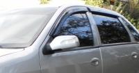 Дефлекторы окон (ветровики) для Lifan Breez 520/521 (2006-... г.в.) седан и хэтчбек