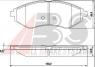 Тормозные колодки передние для Chevrolet Aveo I (T200, T250, T255) (2003-2012 г.в.)