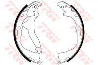 Тормозные колодки барабанные задние для Volkswagen Amarok 2010-...г.в.