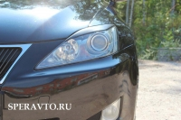 Реснички на фары для Lexus IS 2005-2010 г.в.