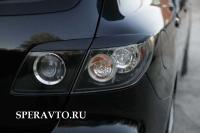 Реснички на задние фары для Mazda 3 2003-2008 г.в. хэтчбэк