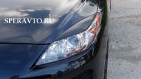 Реснички на фары для Mazda 3 II 2009-2013 г.в.