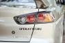 Реснички на задние фонари для Mitsubishi Lancer X 2011-...г.в.