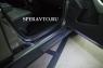 Накладки на пороги (внутренние) для Nissan Terrano 2014-...г.в.