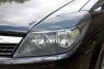 Реснички на передние фары для Opel Astra 2006-2012 г.в.