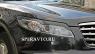 Реснички на фары для Infiniti FX 35 2003-2008 г.в.