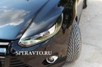 Реснички на фары для Ford Focus III 2011-2013 г.в.