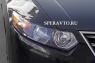 Реснички на фары для Honda Accord VIII 2010-2012 г.в.