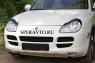 Реснички на передние фары для Porsche Cayenne 2002-2010 г.в.