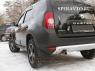 Расширители колесных арок (стандартные) для Renault Duster 2010-...г.в.