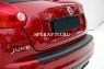 Накладки на бампер задний для Nissan Juke 2010-...г.в.