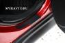 Накладки на пороги (внутренние) для Nissan Juke 2010-...г.в.