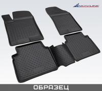 Коврики в салон для Hyundai Elantra V  2014-...г.в.