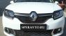 Реснички на передние фары для Renault Sandero 2014-...г.в.