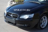 Реснички на передние фары для Subaru Legacy 2003-2009 г.в.
