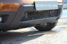 Накладка на бампер передний (нижняя часть) для Renault Duster 2010-...г.в.