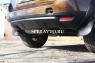 Накладка на бампер задний (нижняя часть) для Renault Duster 2010-...г.в.