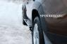 Пороги (внешние) для Renault Duster 2010-...г.в.