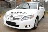 Реснички (удлинённые) на передние фары для Toyota Camry V40 2009-2011 г.в.